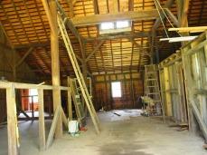main room; view from barn doors