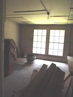 middle room BEFORE demo.
