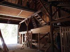 bottom to top: kitchen, midlevel, bridge
