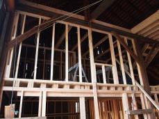 midlevel bedroom from barn doors.