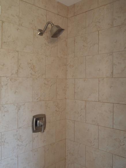 guest bath shower.