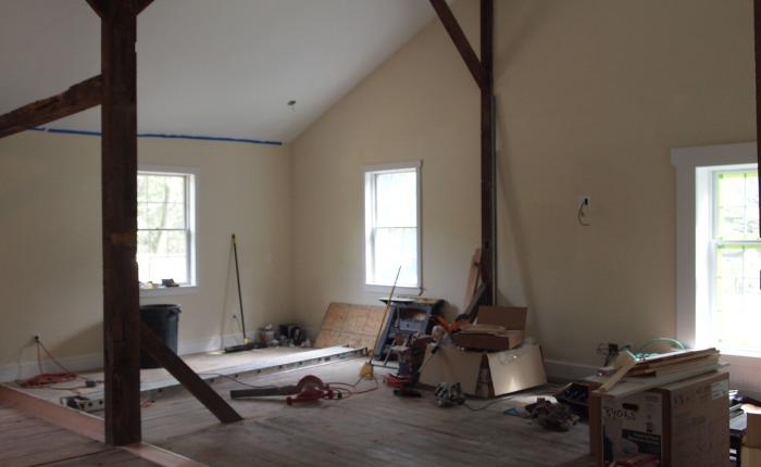 Additional (again, overdue) photos of interiorprogress.